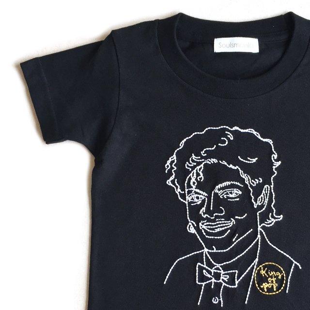 【大人サイズオーダー受付・未定】KING OF POP T-Shirt black img1