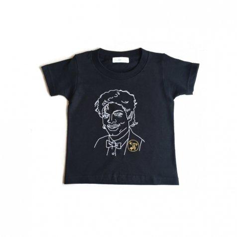 【大人サイズオーダー受付・5/14まで】KING OF POP T-Shirt black