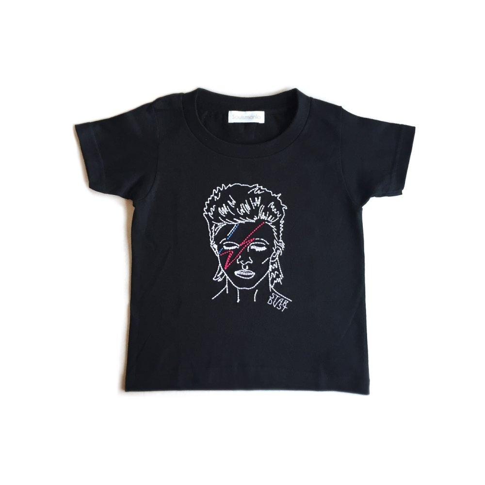 【大人サイズオーダー受付・未定】STAR DUST T-Shirt black img