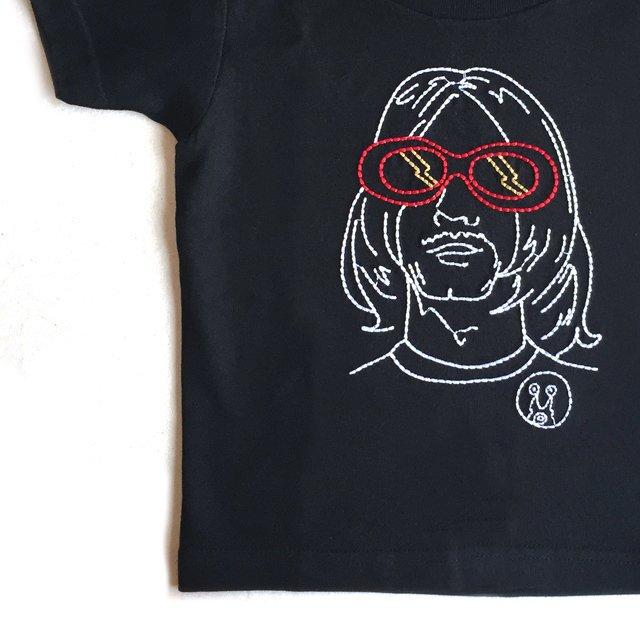 【大人サイズオーダー受付・未定】NEVER MIND T-Shirt black img2