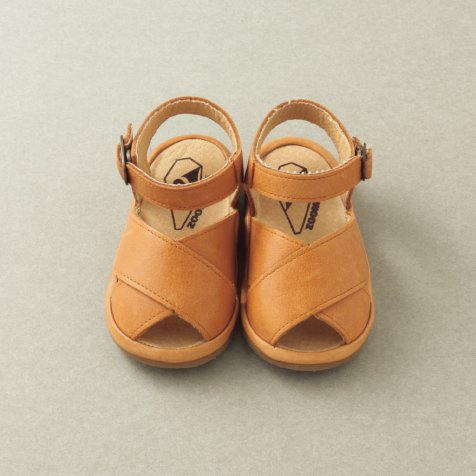 【20%OFF】Cross Sandal CAMEL