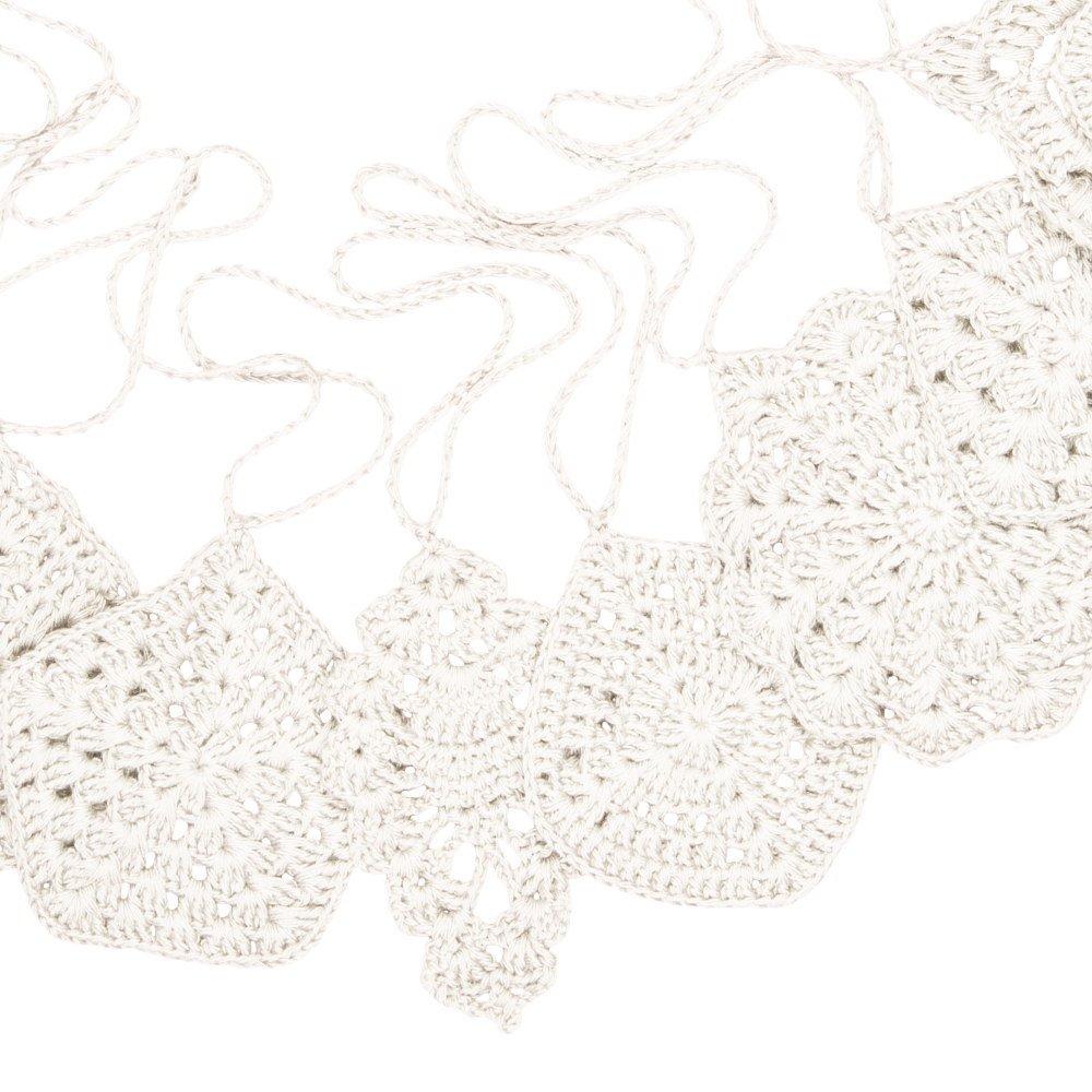 Crochet Garland Natural img4