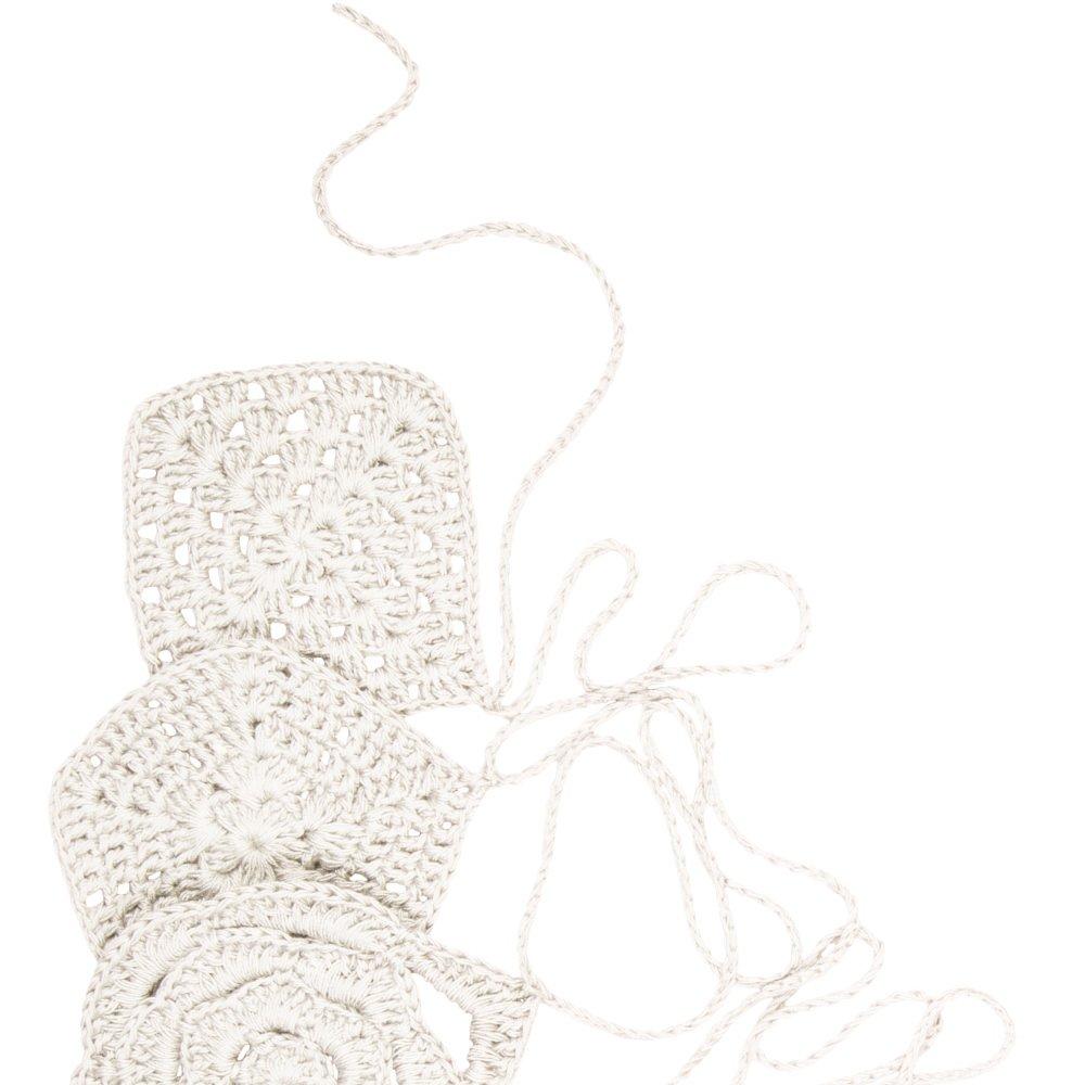 Crochet Garland Natural img5