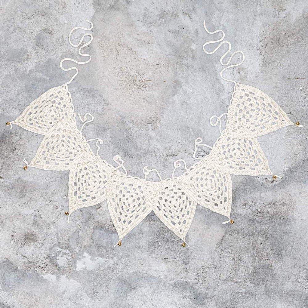 bunting garland Crochet S000 Natural img1