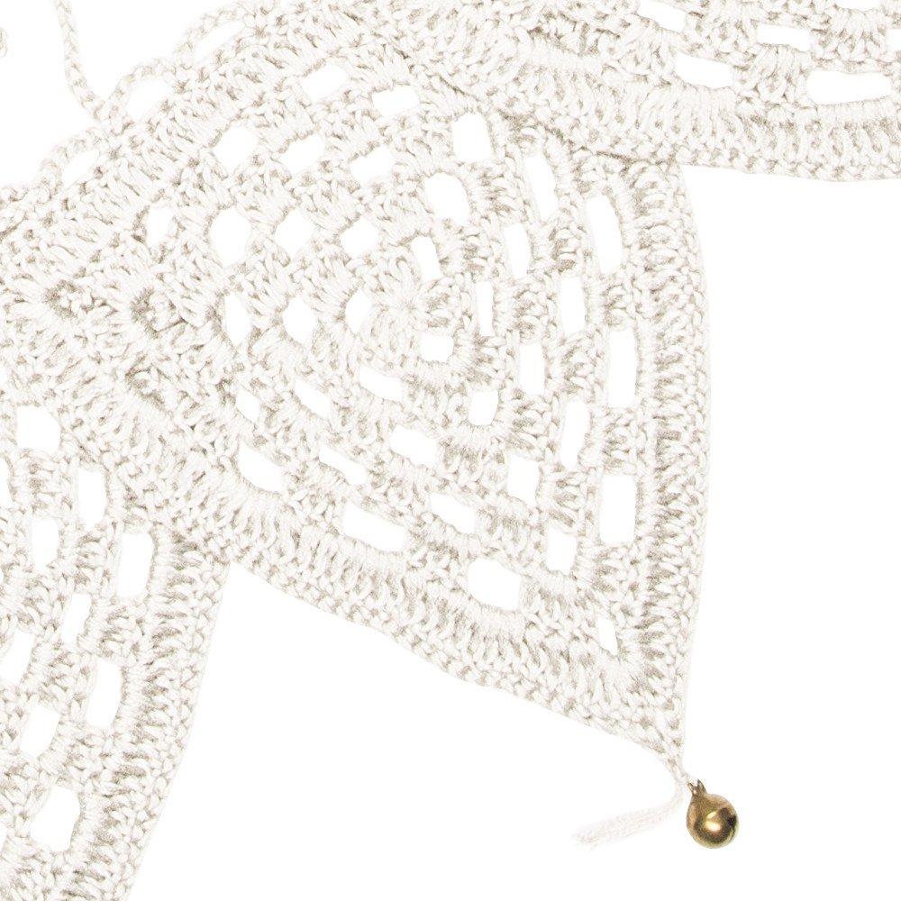 bunting garland Crochet S000 Natural img2