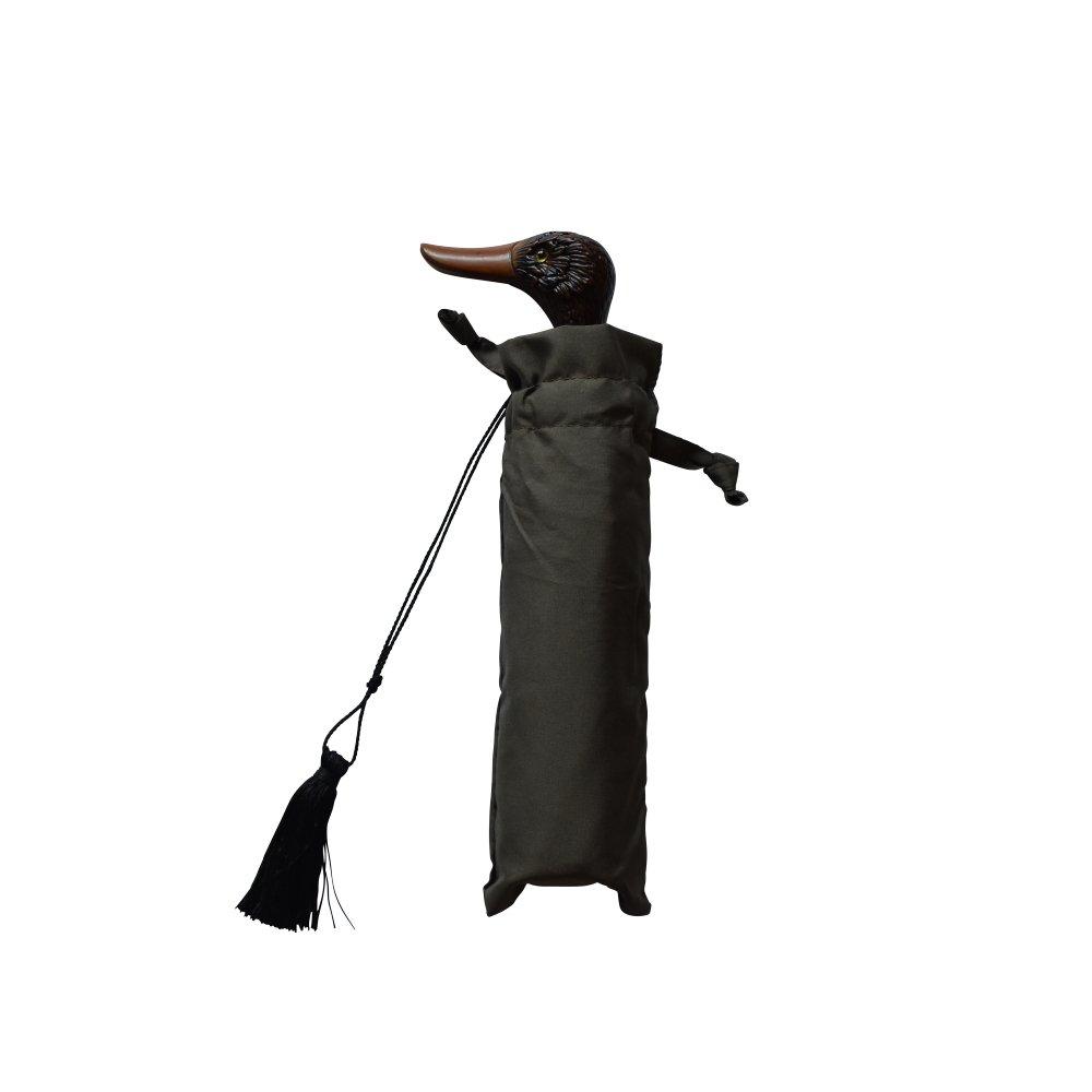 folding umbrella 晴雨兼用折りたたみ傘 duck kahki img