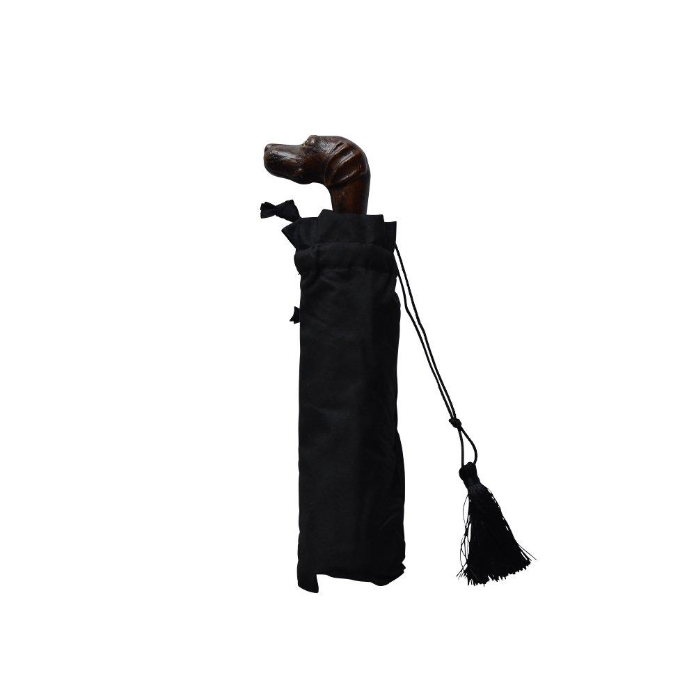 folding umbrella 晴雨兼用折りたたみ傘 dog noir img
