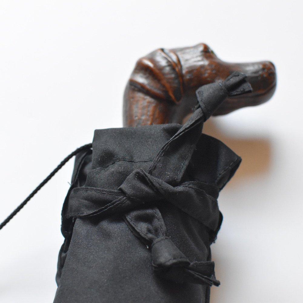 folding umbrella 晴雨兼用折りたたみ傘 dog noir img8