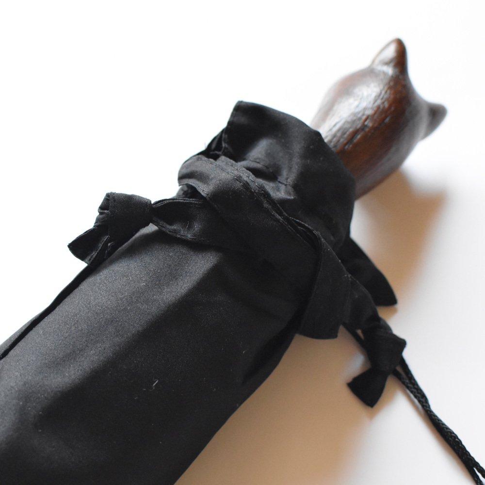 folding umbrella 晴雨兼用折りたたみ傘 cat noir img8