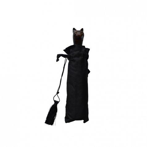 folding umbrella 晴雨兼用折りたたみ傘 cat noir