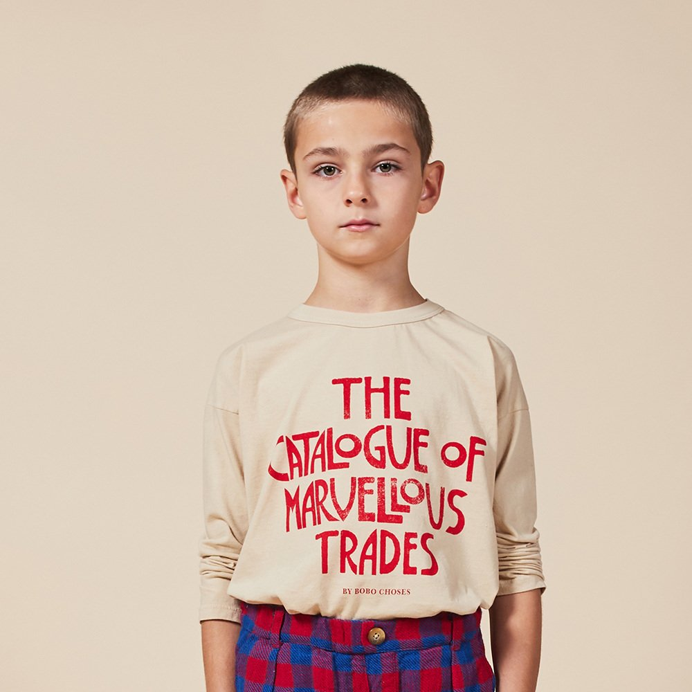 【20%OFF】No.22001157 Catalogue Of Marvellous Trades Long Sleeve T-shirt img4
