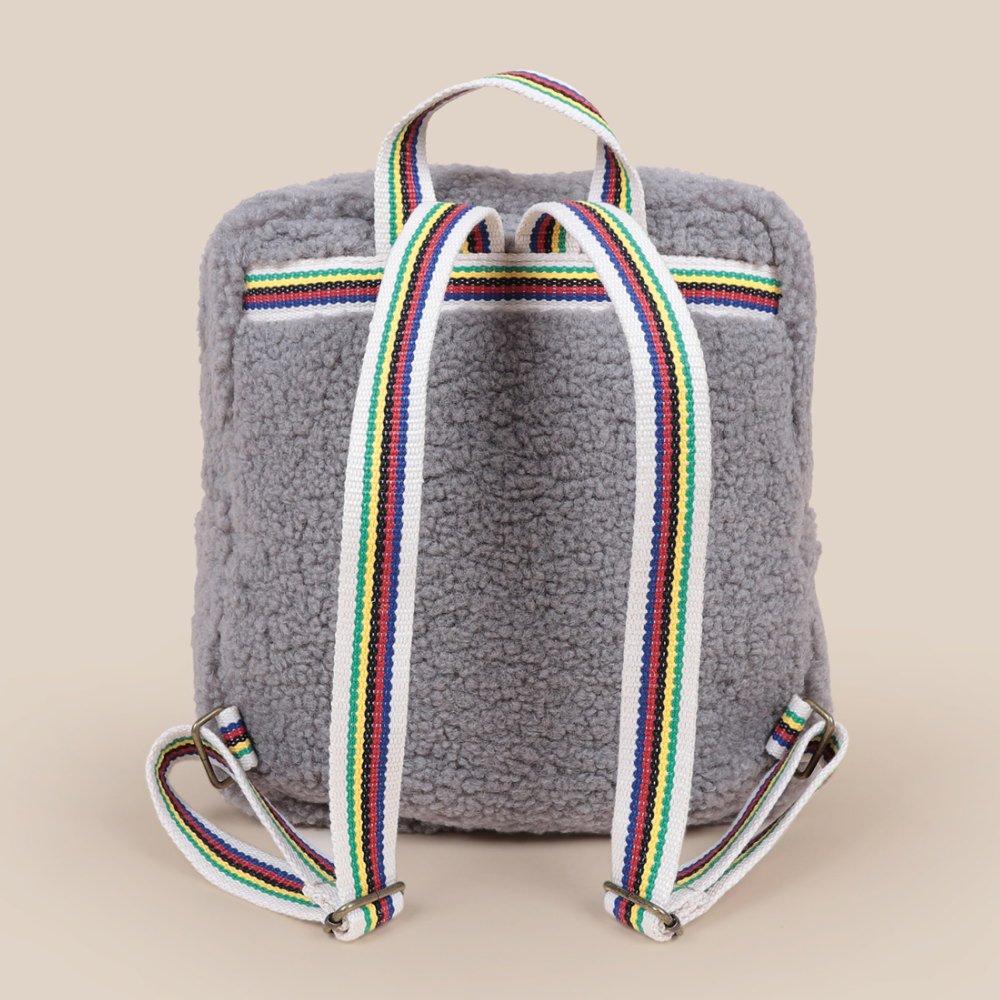 No.22011019 Sheepskin Schoolbag img1
