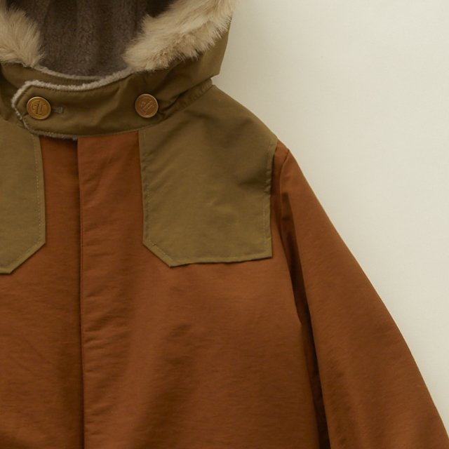 high lander coat brown img4
