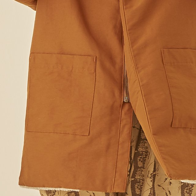 high lander coat brown img7