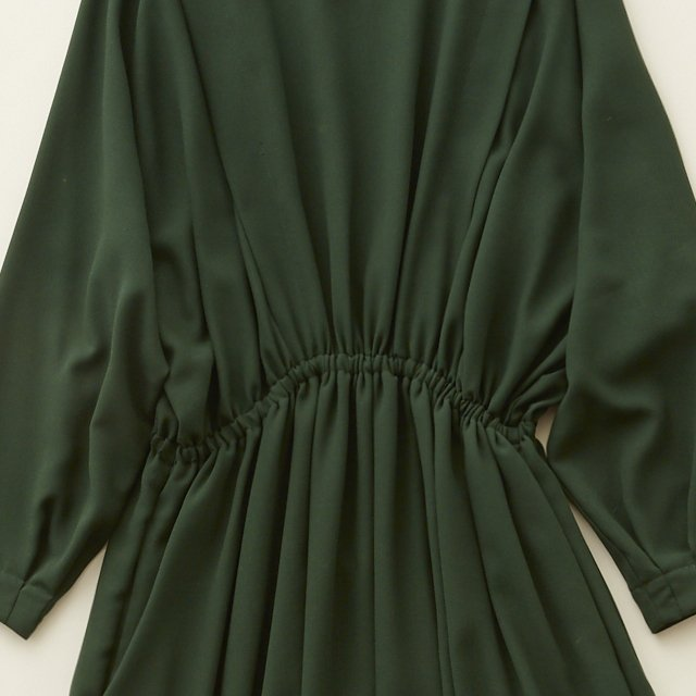 【20%OFF】witch long dress -adult- green img4