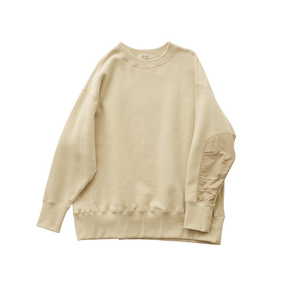 big sweat shirts -adult- ecru img