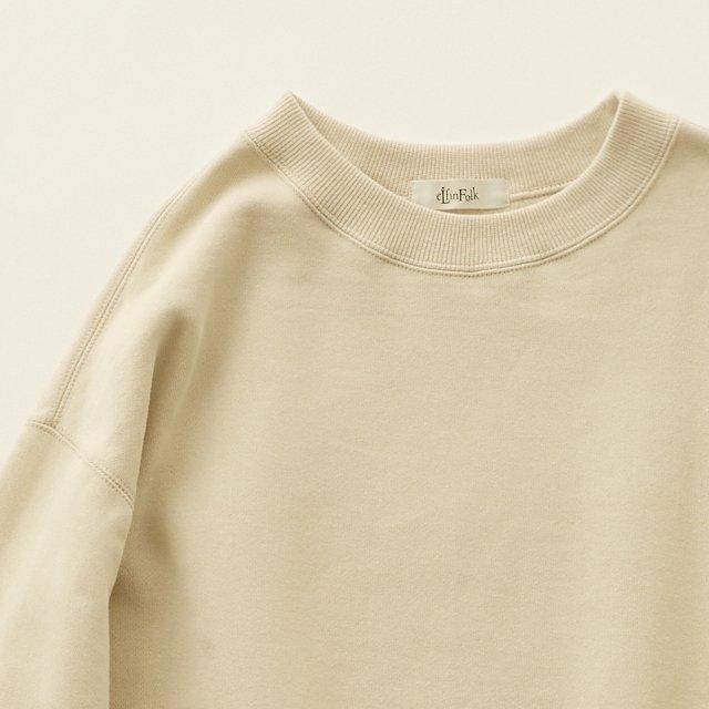 big sweat shirts -adult- ecru img1