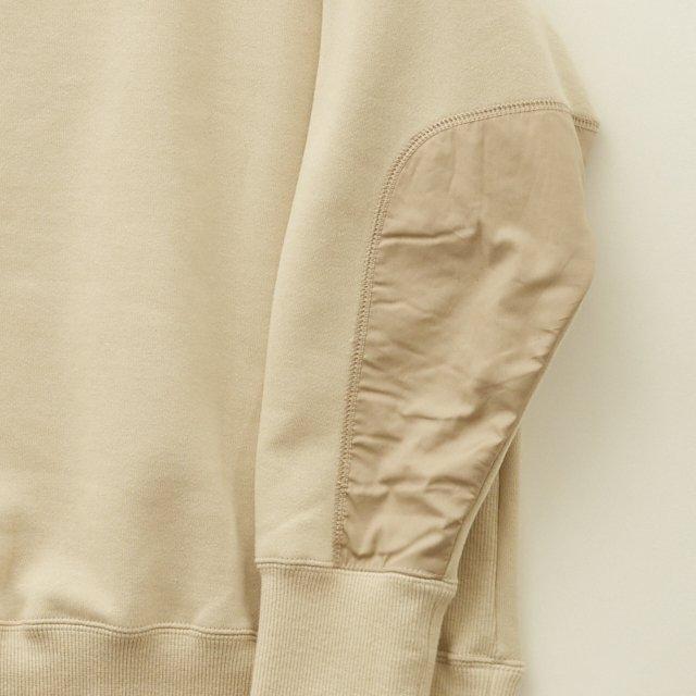 big sweat shirts -adult- ecru img3