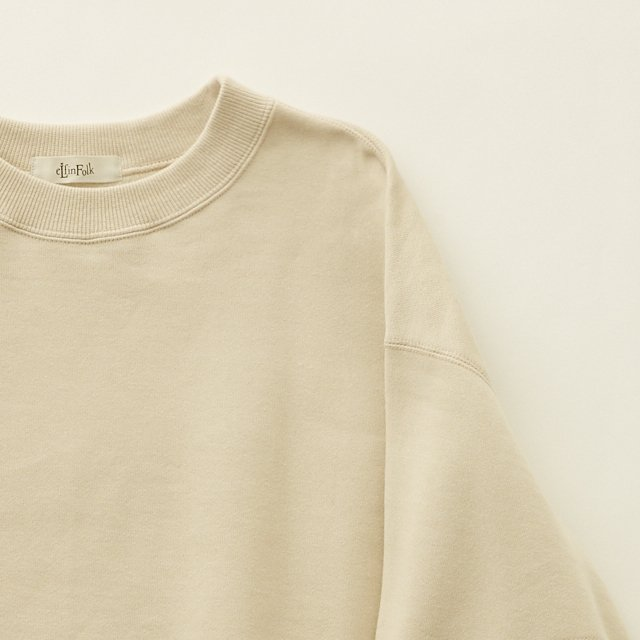 big sweat shirts -adult- ecru img4