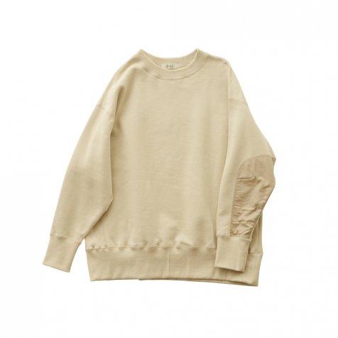 big sweat shirts -adult- ecru