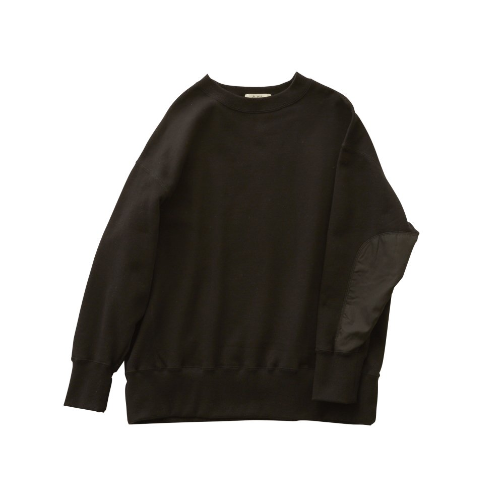 【追加販売】big sweat shirts -adult- black img