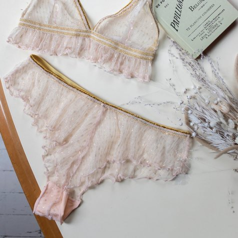 【20%OFF】Panties Lollie Blush