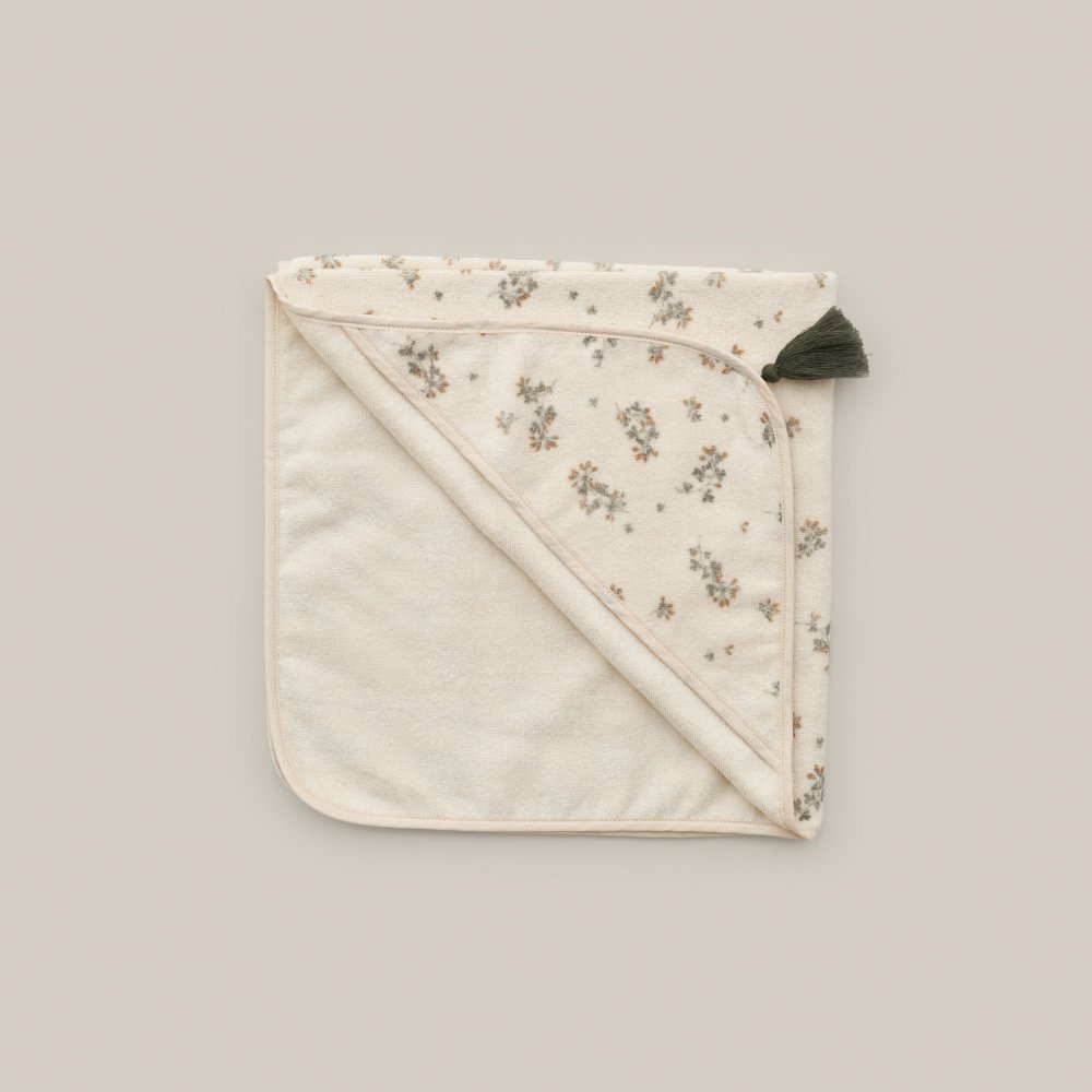 Baby Hooded Towel Clover img