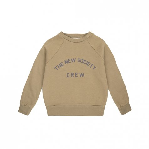 THE NEW SOCIETY CREW SWEATER Kahki