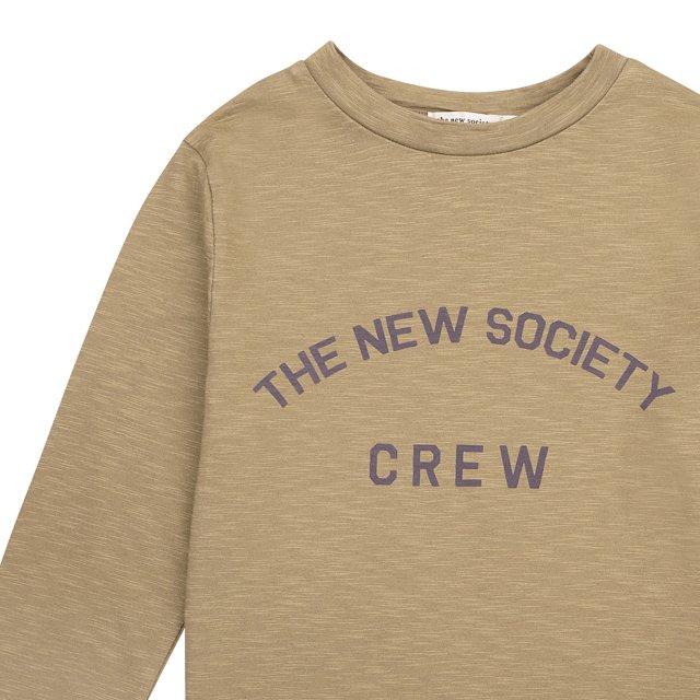 【30%OFF】THE NEW SOCIETY CREW TEE Kahki img1