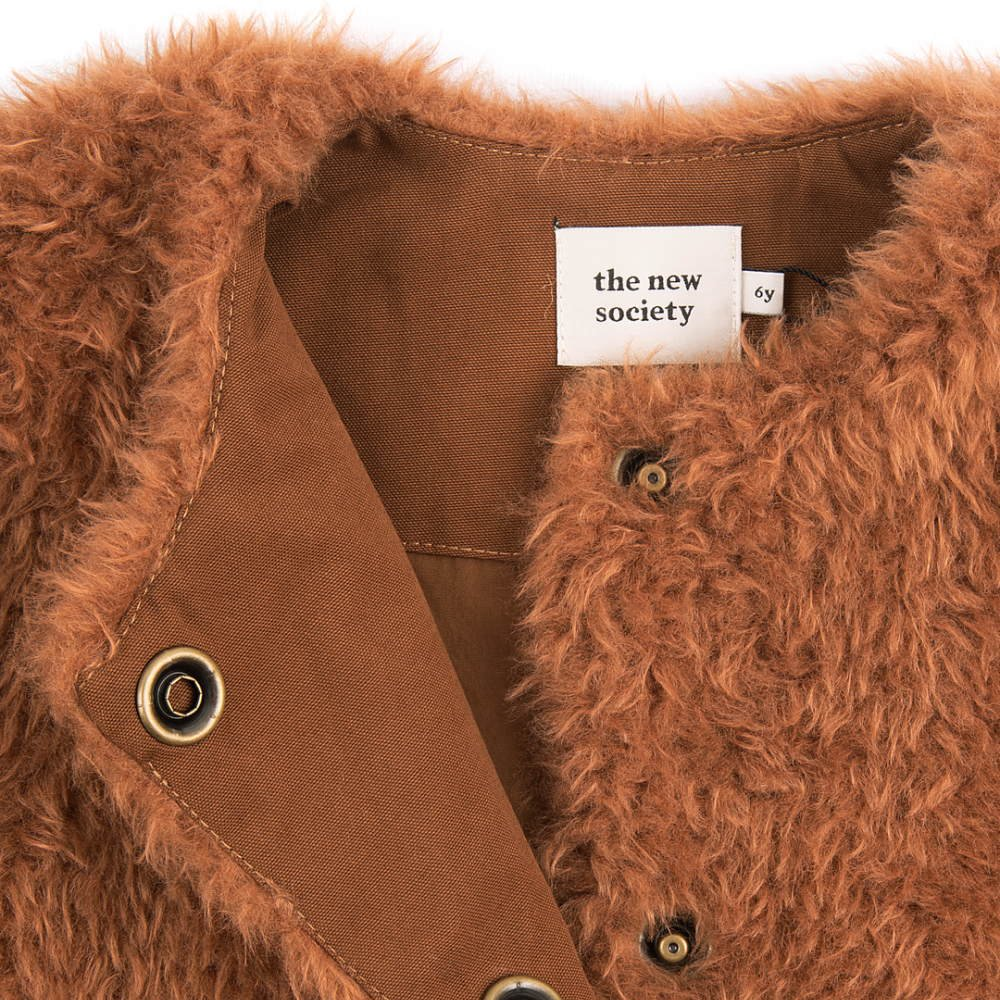FUR COAT Caramel img1