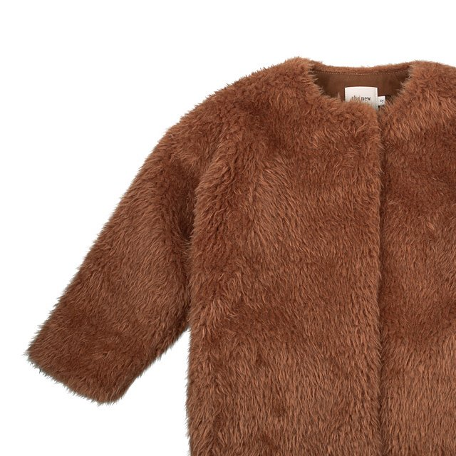 FUR COAT Caramel img2