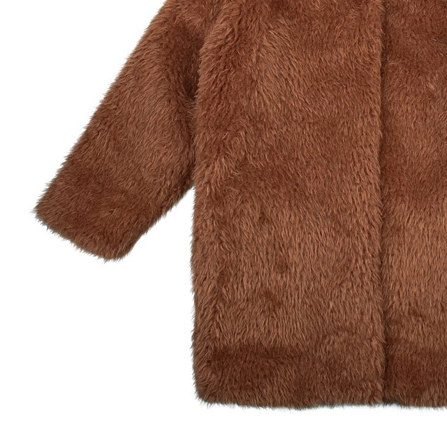 FUR COAT Caramel img3