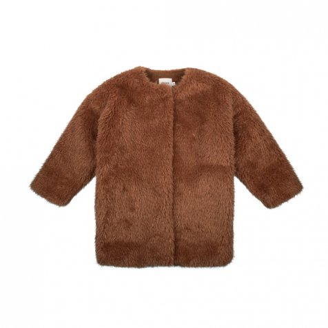 FUR COAT Caramel