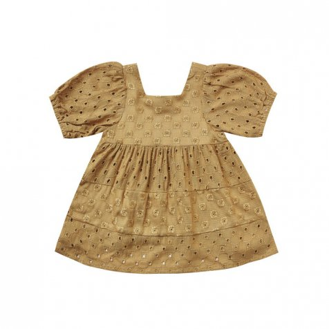 gretta baby doll dress goldenrod
