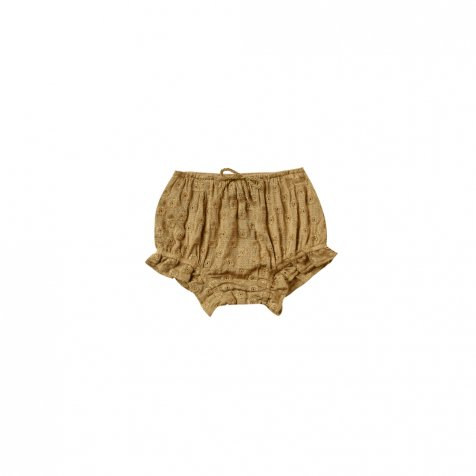 【20%OFF】eyelet flutter bloomer goldenrod