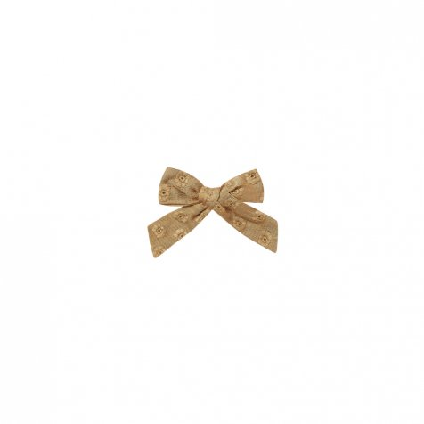 【20%OFF】eyelet girl bow goldenrod