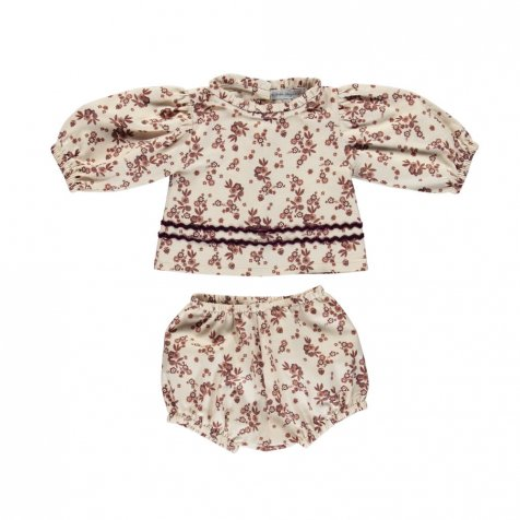 【20%OFF】Gabriella set Vintage flower