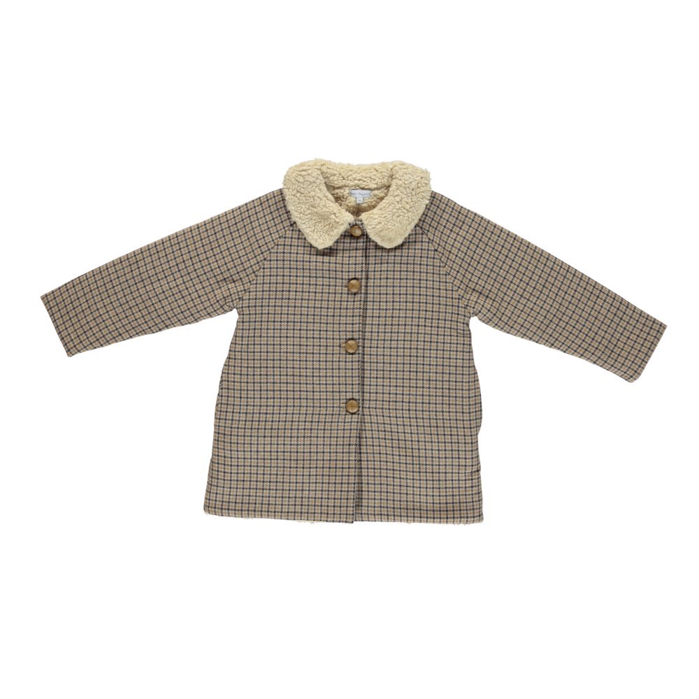 【30%OFF】Aet coat checked img1