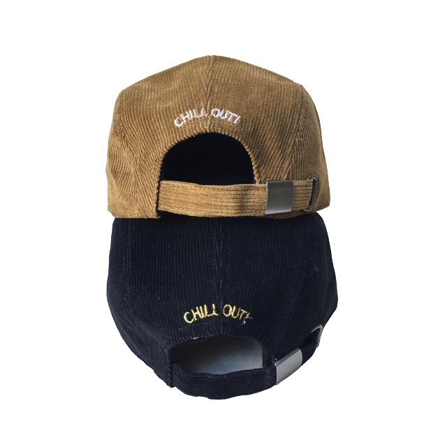 CHILL OUT MAN CAP Black img3