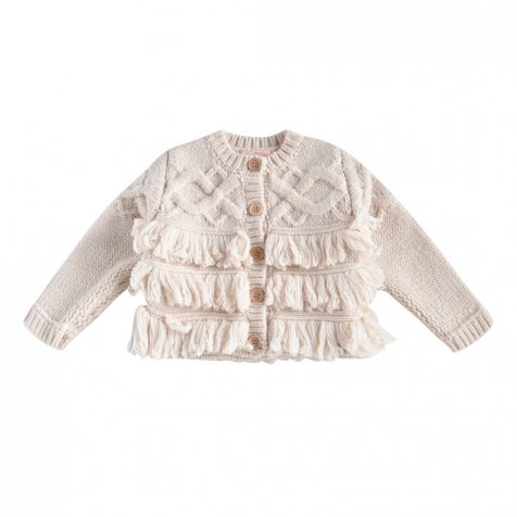 Cardigan Loket Cream baby