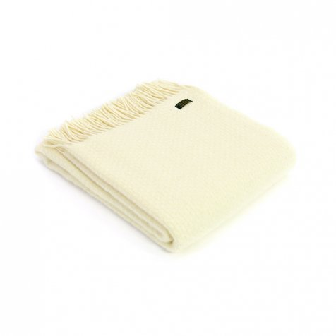 【20%OFF】Pure New Wool Shawl Wafer Cream