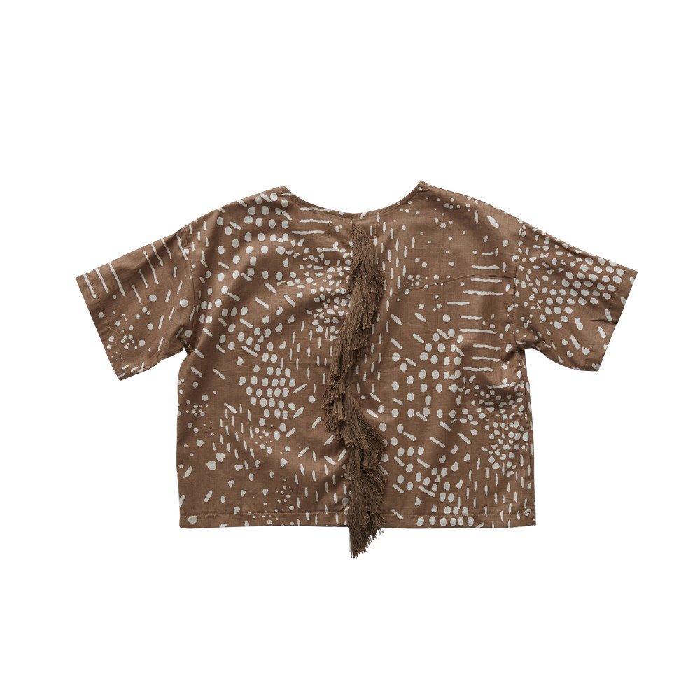 QiLin T shirts brown img