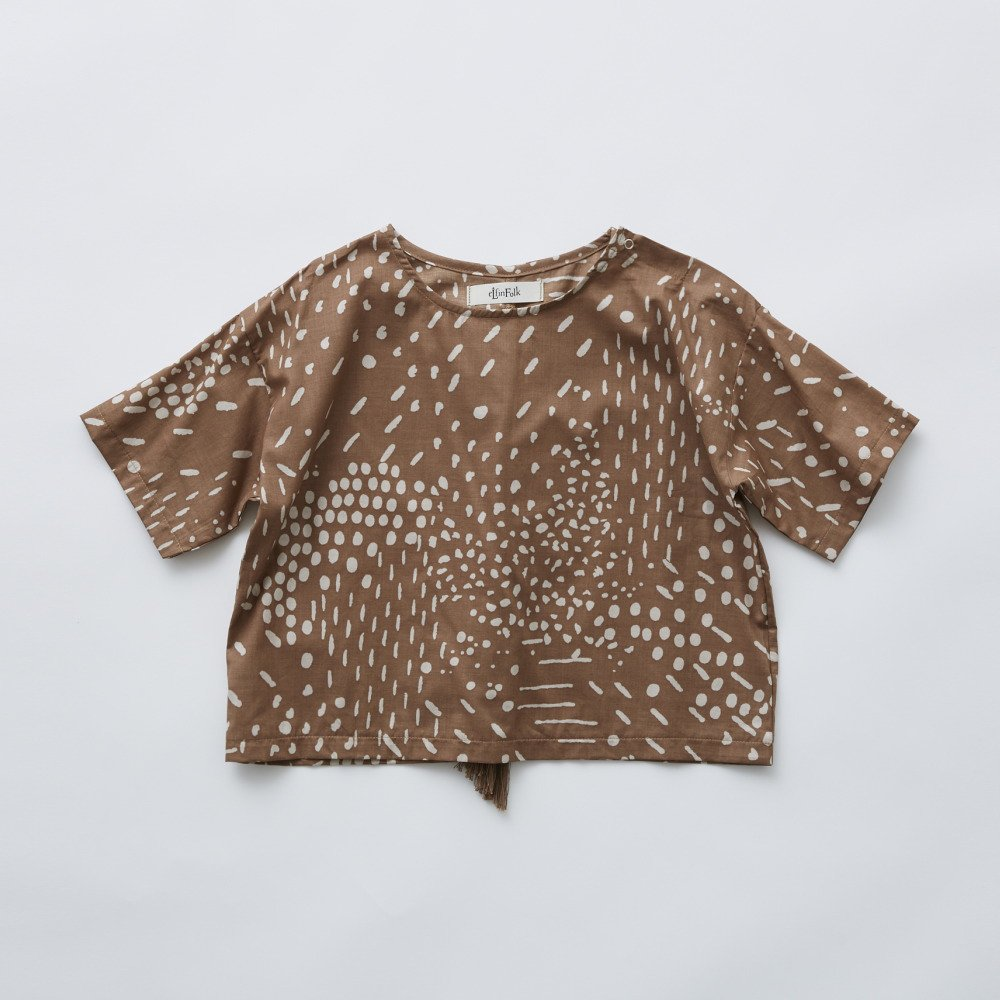 QiLin T shirts brown img1