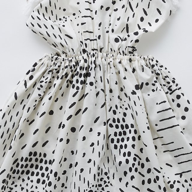 QiLin pinafore dress white img2