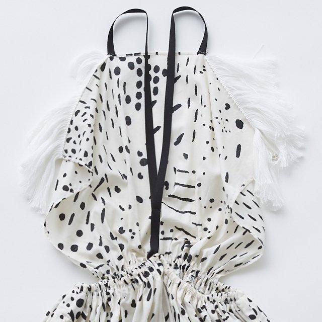 QiLin pinafore dress white img5