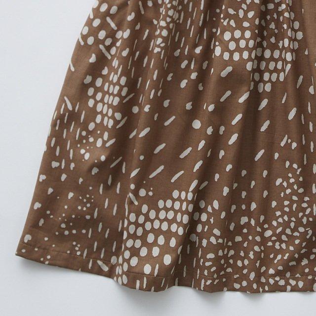 QiLin pinafore dress brown img3