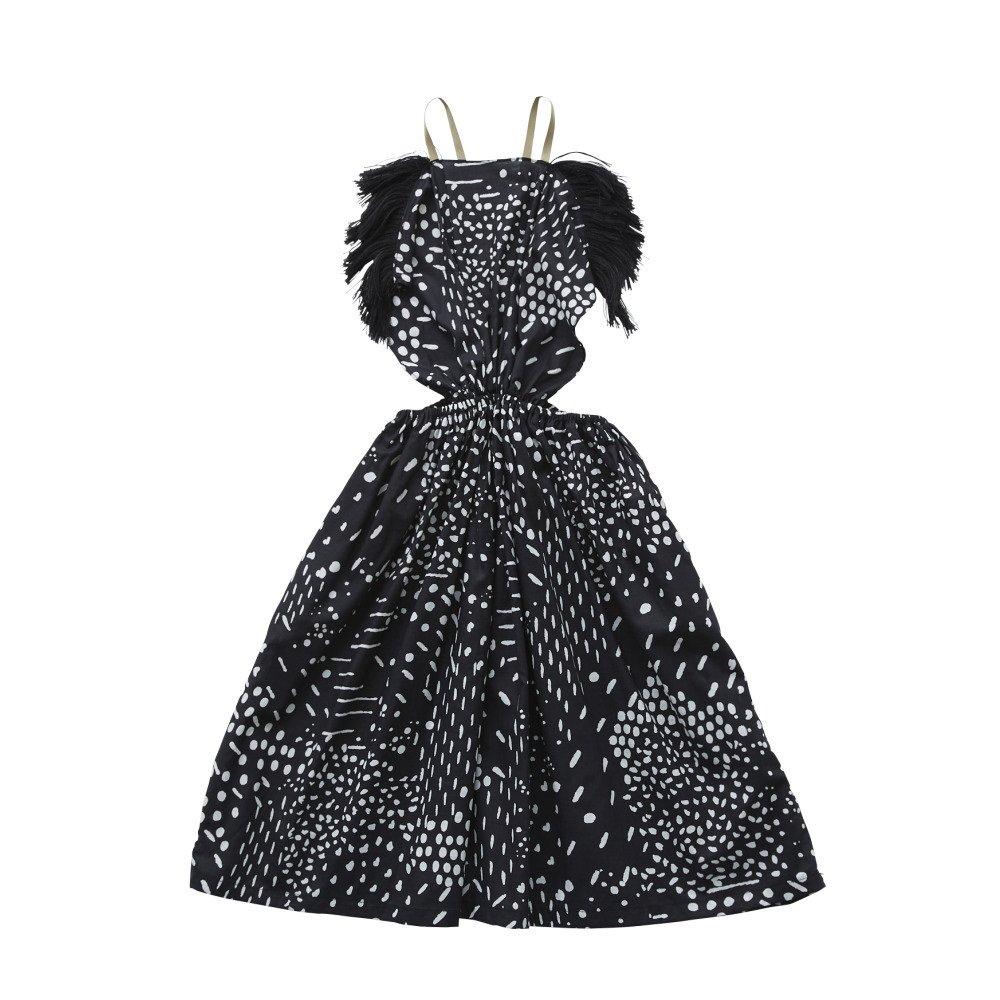 【20%OFF】QiLin pinafore dress black img