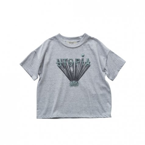 UTOPIA Tee top gray