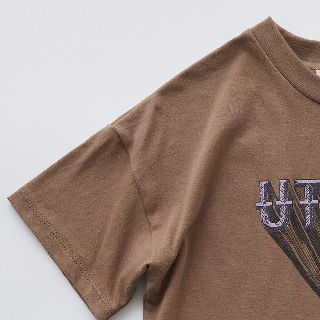 【20%OFF】UTOPIA Tee cocoa img1