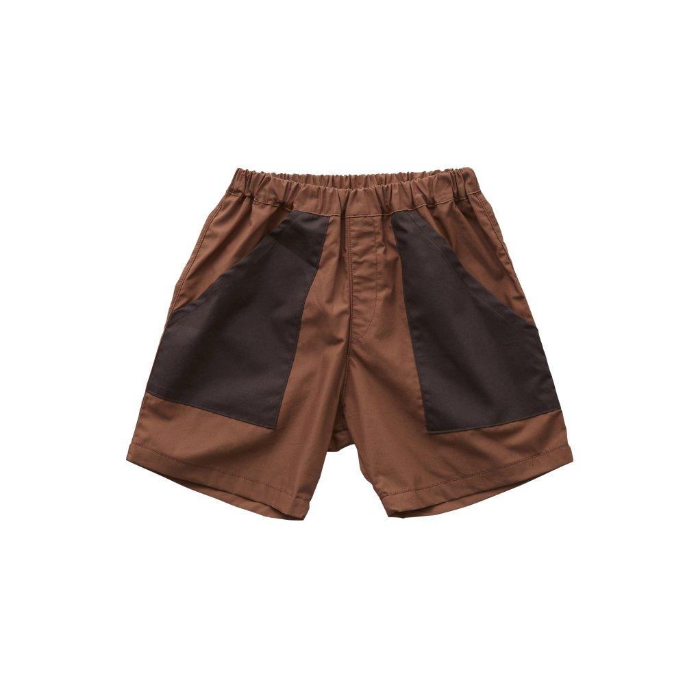 typwriter shorts brown img